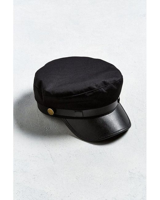 Urban Outfitters - Black Uo Leather Band Fisherman Hat for Men - Lyst