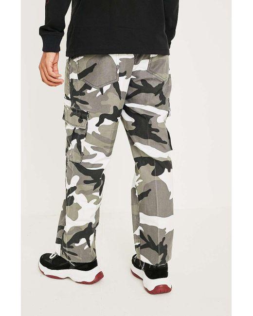 88033e4b47 ... Urban Renewal - Black Vintage Mono Urban Camo Trousers for Men - Lyst  ...
