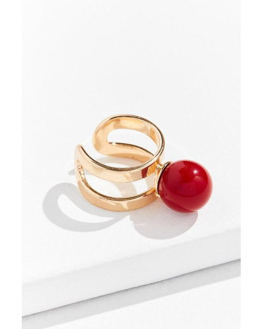 Urban Outfitters | Metallic Bauble Statement Ring | Lyst