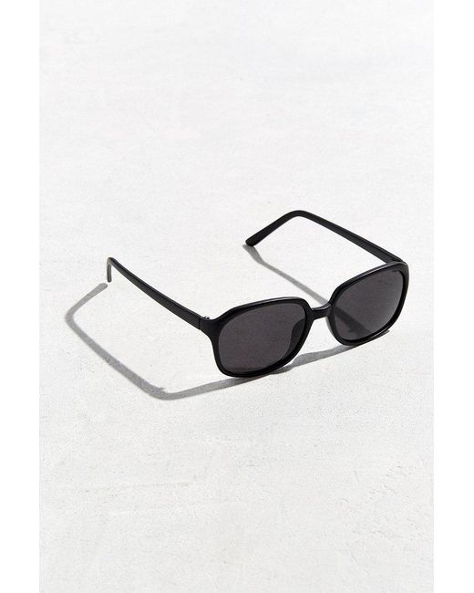 Urban Outfitters | Black Rounded Square Sunglasses for Men | Lyst