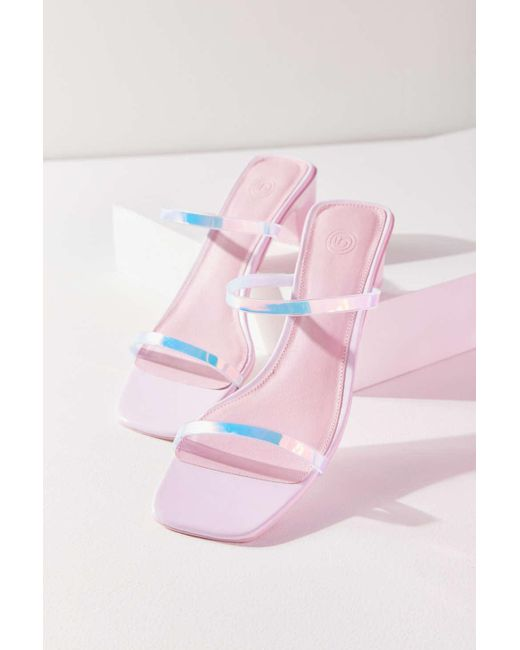 a1a1204e753 ... Urban Outfitters - Multicolor Uo Veronica Jelly Strap Sandal - Lyst ...