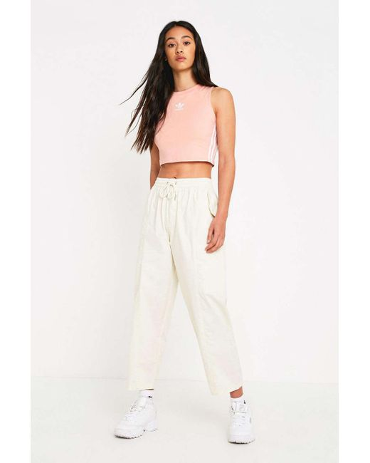 d7e1f382456e Urban Outfitters - Natural Uo Ecru Cotton Utility Pant - Lyst ...