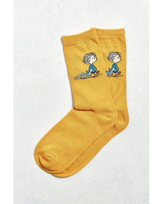 Urban Outfitters | Orange Linus Sock for Men | Lyst