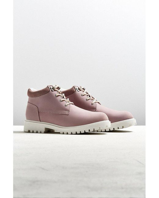 Urban Outfitters | Purple Uo Robert Low Lug Boot | Lyst