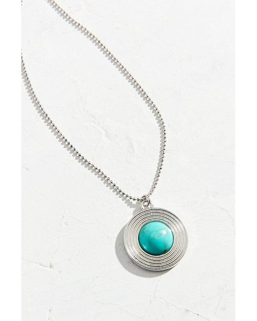Urban Outfitters - Multicolor Therese Stone Pendant Necklace - Lyst