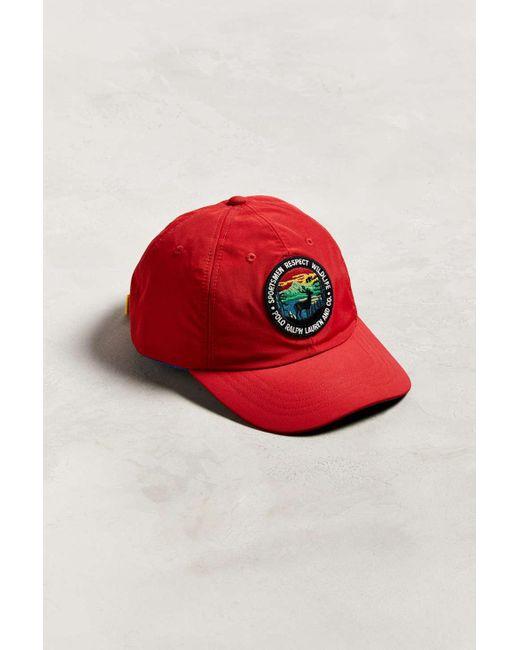 e85138762 Red Sportsmen Classic Baseball Hat