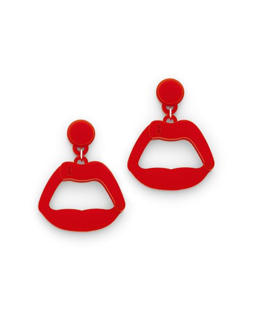 Yazbukey | Multicolor Slave To Love Earrings | Lyst