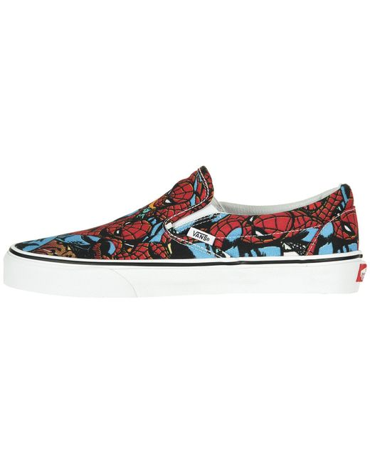 ... Vans - Multicolor Marvel Classic Slip-on for Men - Lyst ... 70b48dc93