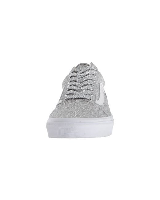 ... Vans - Multicolor Lurex Glitter Old Skool - Lyst ... 37e86dedd