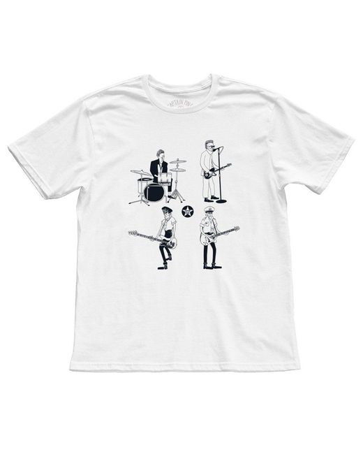 Captain Fin White Know Your Rights Premium T-shirt for men