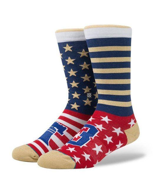 Stance Blue Phillie Socks for men