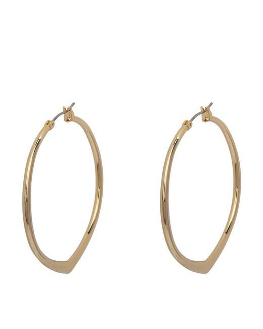 Vera Bradley | Metallic Large Triangle Hoop Earrings | Lyst