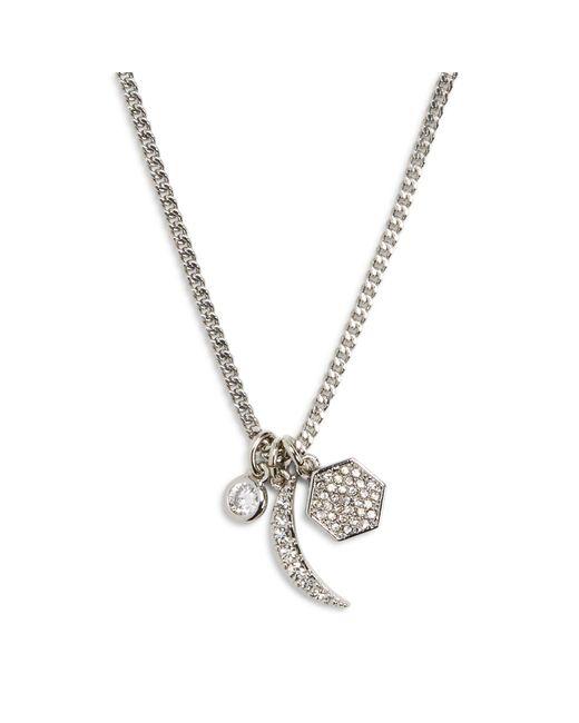 Vera Bradley | Metallic Adventure Crescent Necklace | Lyst