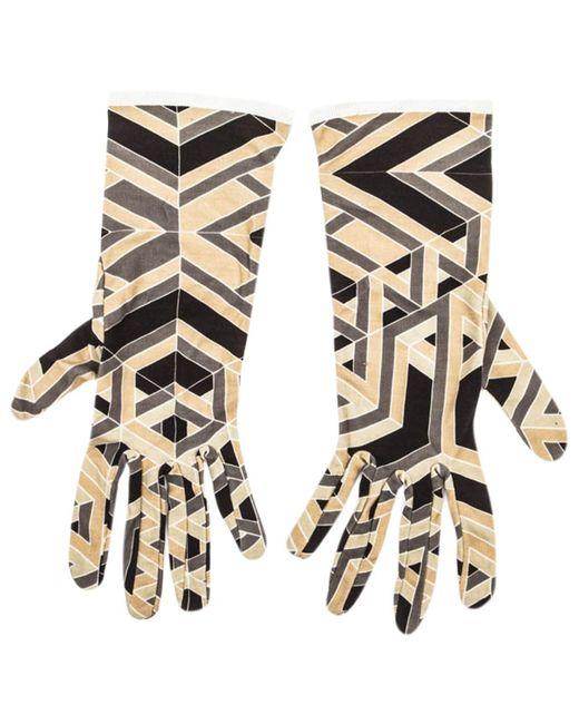 Hermès - Multicolor Pre-owned Silk Long Gloves - Lyst