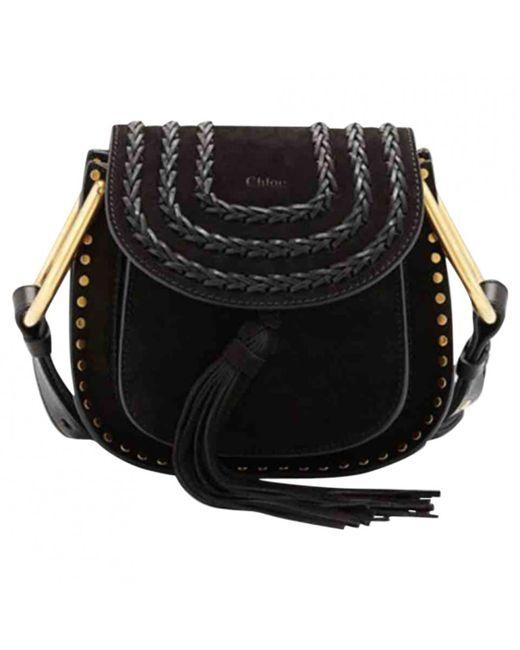Chloé - Black Hudson Crossbody Bag - Lyst