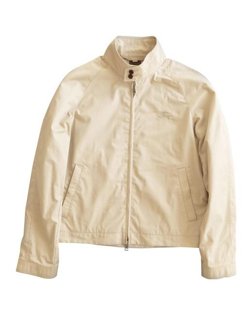 Burberry - Natural Jacket for Men - Lyst