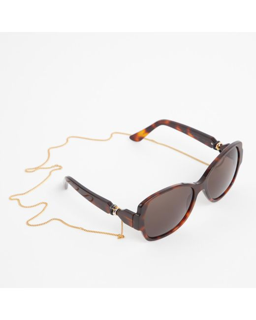 b447aa51642a Cartier - Brown Sunglasses - Lyst Cartier - Brown Sunglasses - Lyst ...