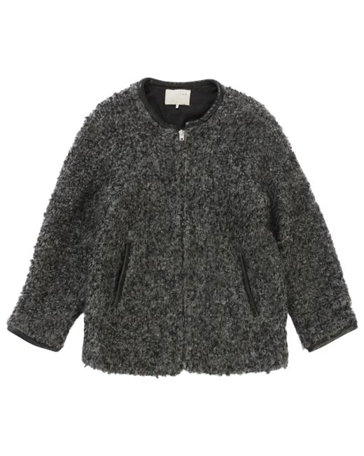 IRO - Gray Grey Wool Coat - Lyst