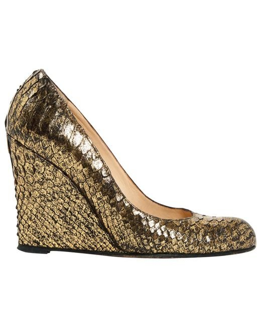 Pre-owned - Python heels Christian Louboutin 2h9jWd