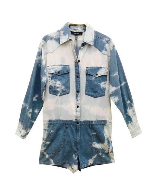 Isabel Marant - Blue Other Cotton Jumpsuits - Lyst