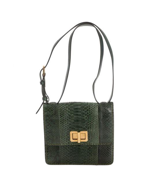 Chloé Green Exotic Leather Handbag in Green - Lyst 9d70d739dd33e