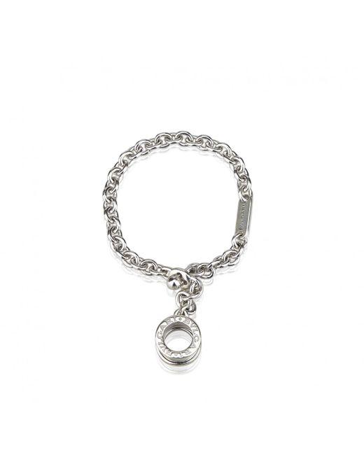 BVLGARI - Metallic Pre-owned Silver Metal Jewellery for Men - Lyst