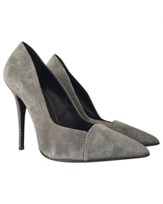 Giuseppe Zanotti - Gray Heels - Lyst