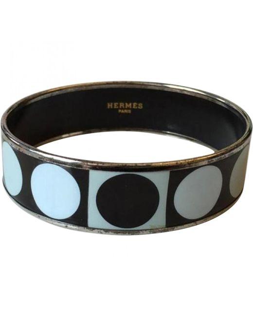 Hermès   Pre-owned Black Bracelet   Lyst