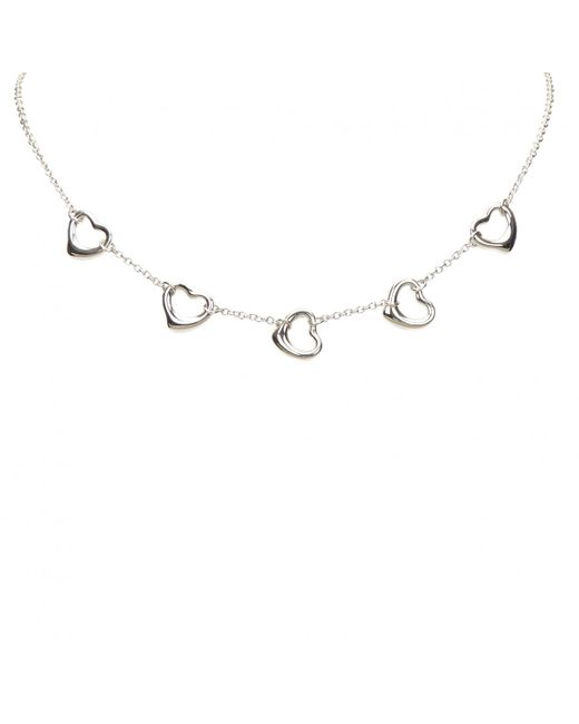 Tiffany & Co - Metallic Necklace - Lyst