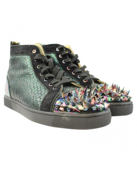 Christian Louboutin | Multicolor Pre-owned Boots | Lyst