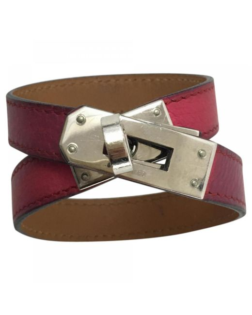 Hermès | Multicolor Pre-owned Kelly Double Tour Leather Bracelet | Lyst