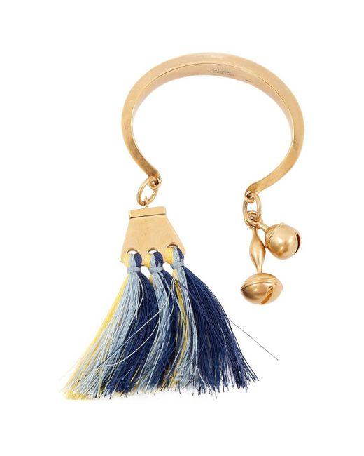 Chloé - Metallic Pre-owned Gold Metal Bracelet - Lyst