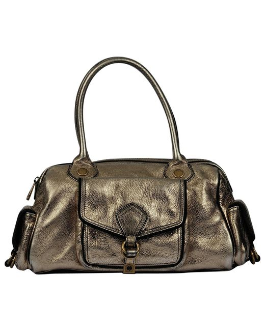 Marc By Marc Jacobs - Metallic Leather Handbag - Lyst