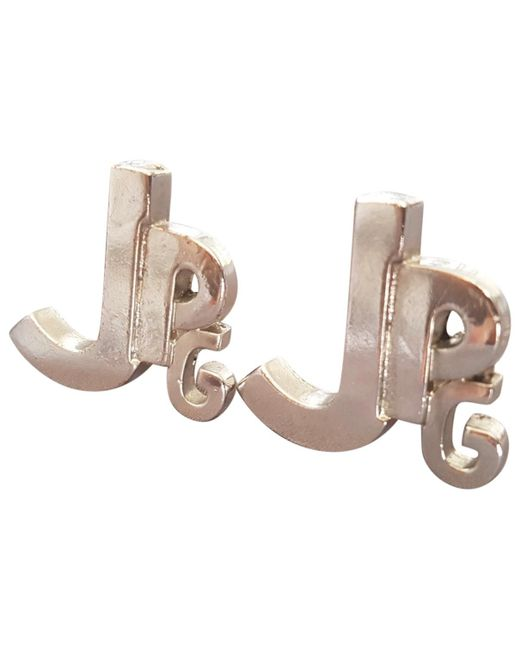 Jean Paul Gaultier - Metallic Earrings - Lyst