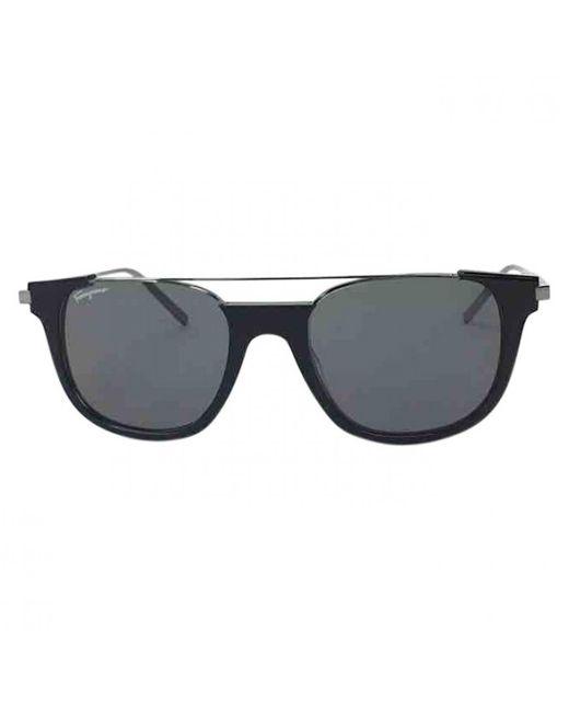 Ferragamo - Black Plastic Sunglasses for Men - Lyst