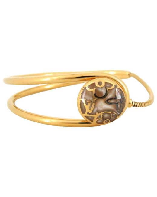 Louis Vuitton   Metallic Pre-owned Metal Bracelet   Lyst