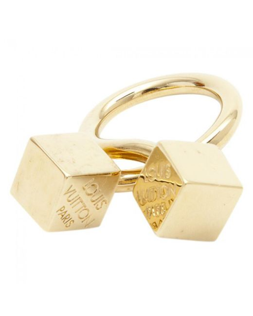 Louis Vuitton | Metallic Pre-owned Ring | Lyst