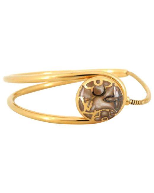 Louis Vuitton - Metallic Metal Bracelet - Lyst