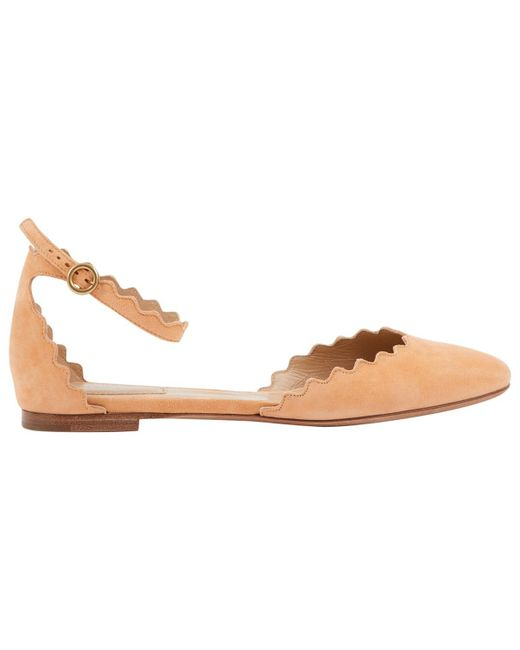Chloé - Pink Pre-owned Ballet Flats - Lyst