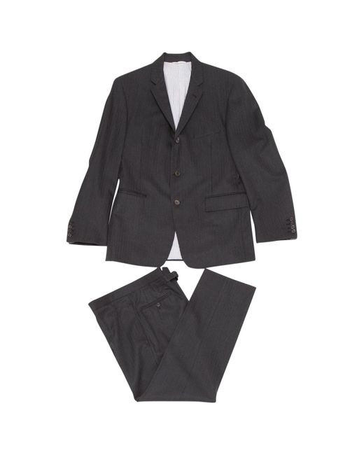 Tom Ford Gray Grey Wool Suits for men