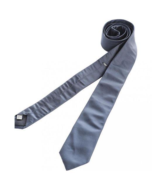 Dior - Blue Navy Silk Ties for Men - Lyst