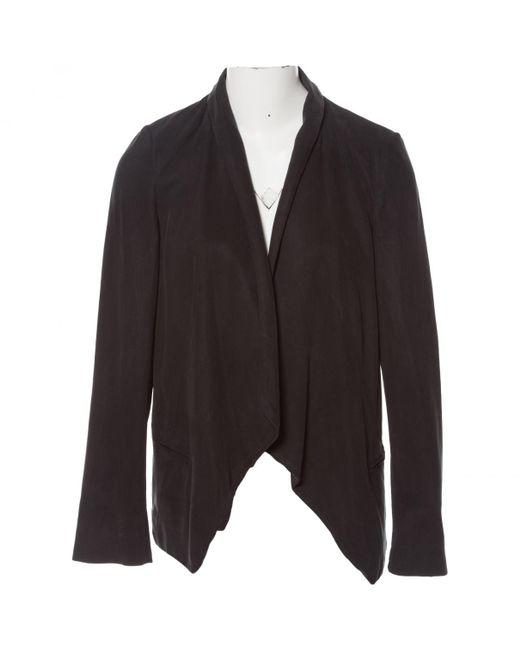 Étoile Isabel Marant - Black Cotton Jacket - Lyst