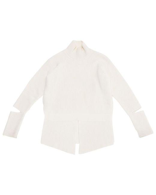 Stella McCartney - White Wool Knitwear - Lyst