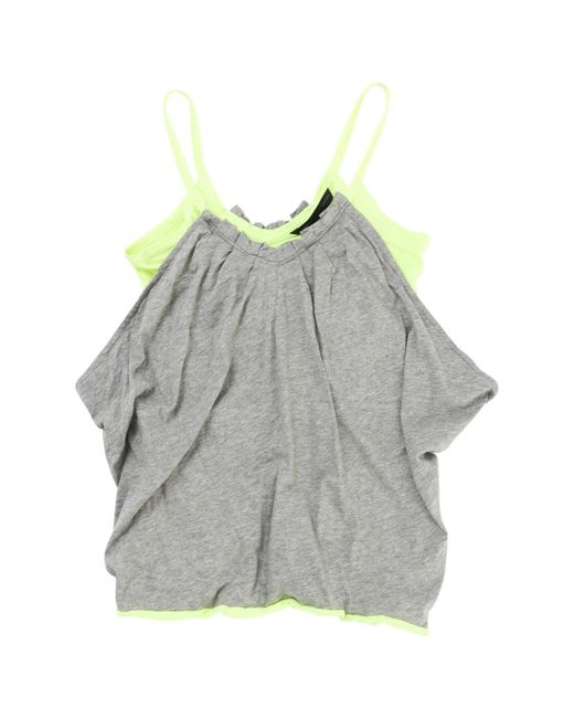 Marc By Marc Jacobs - Gray Pre-owned Grey Cotton Top - Lyst