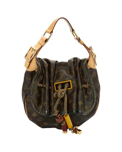 Pre-owned - Cloth shoulder bag Louis Vuitton mkDoj