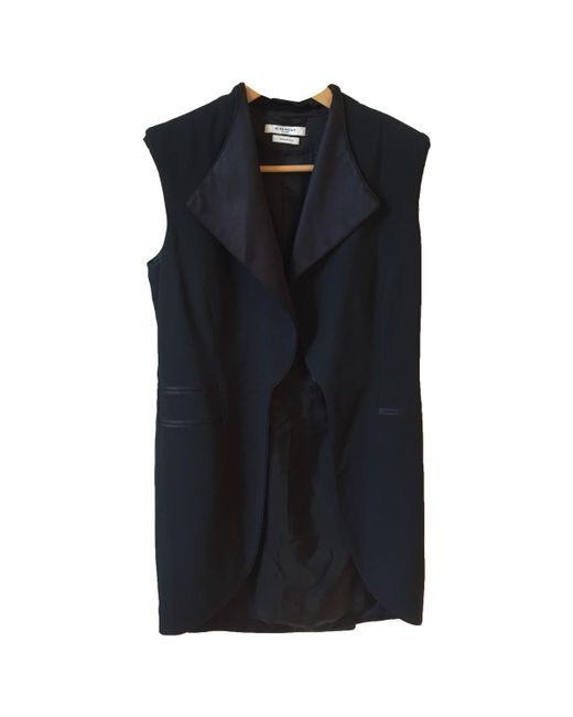 Givenchy - Pre-owned Black Viscose Jacket - Lyst