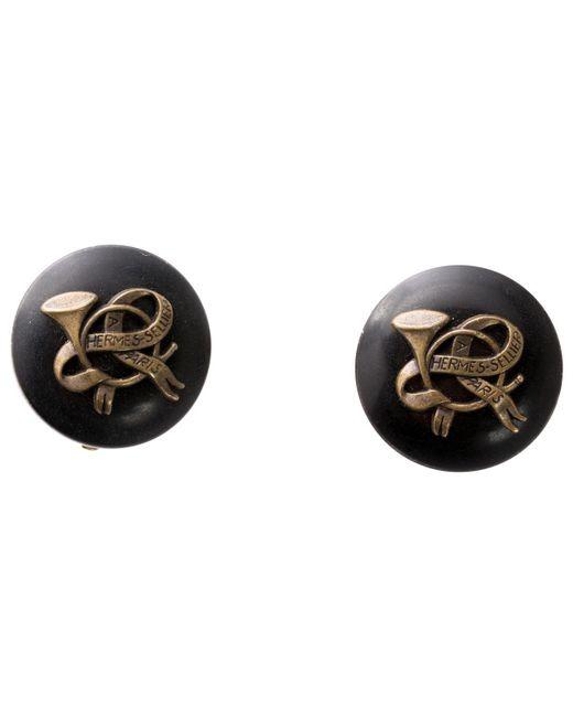 Hermès - Black Horn - Lyst