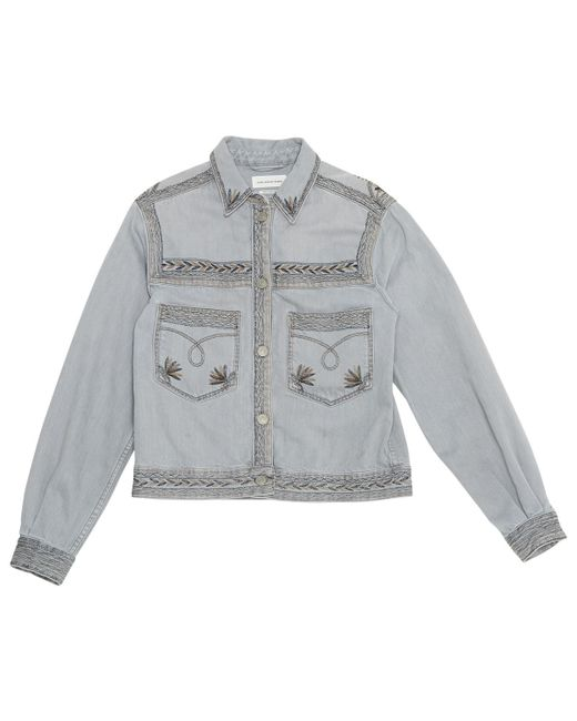 Étoile Isabel Marant - Gray Pre-owned Short Jacket - Lyst