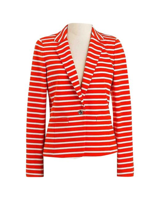 MICHAEL Michael Kors - Red Pre-owned Jacket - Lyst