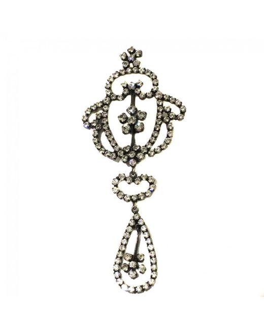Dior - Metallic Pin & Brooche - Lyst